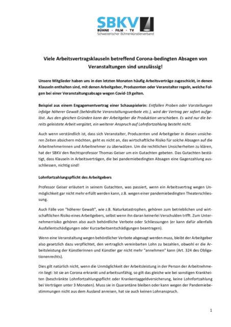 thumbnail of Zusammenfassung Geiser-Gutachten